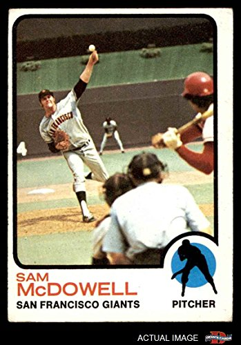 1973 Topps # 511 Sam McDowell San Francisco Giants (Baseball Card) Dean's Cards 4 - VG/EX - San Francisco 511