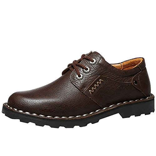 iMaySon(TM) Men's Fashionable Breathable Soft Elegant Leather Shoes (8 D(M) US,Coffee) (Howser Slide Keen compare prices)