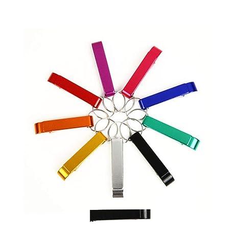 Compra Elenxs Pack de 10 aleación de Aluminio abrebotellas ...
