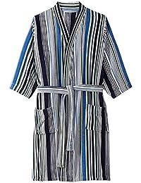 Mens Big & Tall Terry Velour Kimono Robe