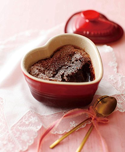 Le Creuset Stoneware Heart Ramekin with Cover, Red by Le Creuset (Image #2)