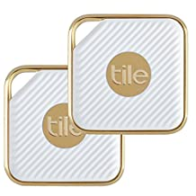 Tile EC-11002 Tile Style - Key Finder. Phone Finder. Anything Finder (Gold) - 2-pack