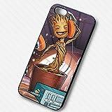 Cute Groot Guardian pour Coque Iphone 6 et Coque Iphone 6s Case N1V6HT