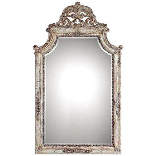 Uttermost 09516 Portici Mirror, Antique Ivory