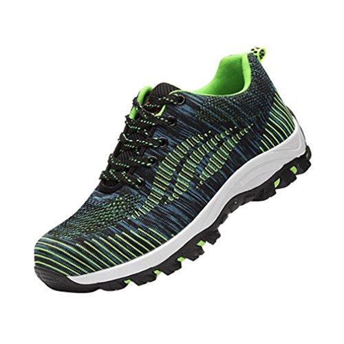 Hombres Calzado Unisex Calzado de Verde Zapatos Senderismo Deportivo Mujer XwIXYSxp