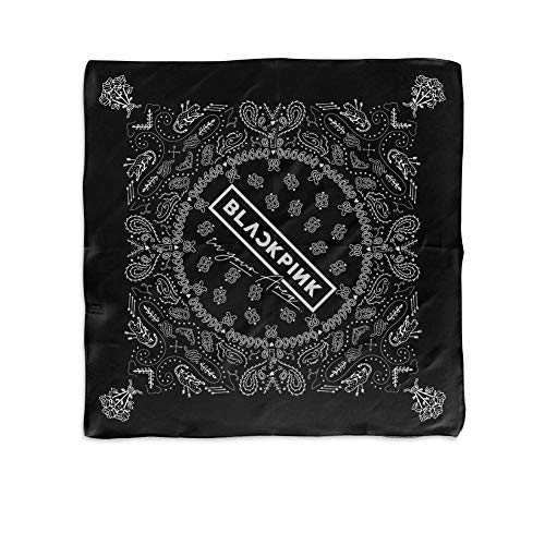 YG Entertainment [Official] YG Select BLACKPINK WORLD TOUR BANDANA (MONO) (Best Upcoming Concerts 2019)