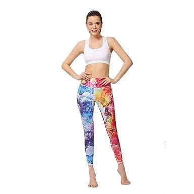 HaiDean Pantalones De Chándal Mujeres Fitness Correr Entrenamiento ...