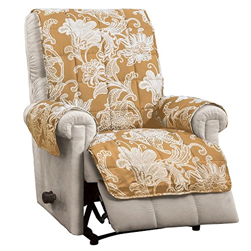 Elnora Quilted Furniture Recliner Scrollwork