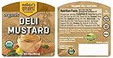 Nature's Greatest Foods, Organic Deli Mustard, 10