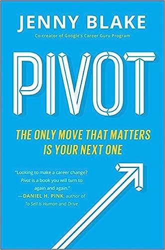 Pivot by Jenny Blake