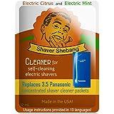 Panasonic Concentrate Citrus & Mint, 7 packets=2 pack Shaver Shebang