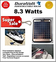 DuraVolt Marine Solar Panel Battery Char...