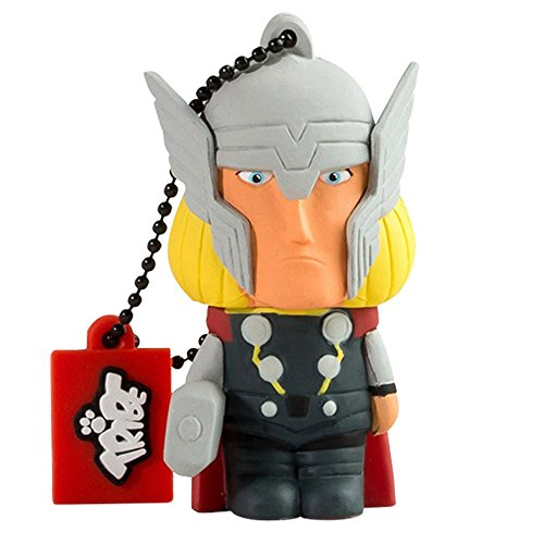 Tribe Marvel The Avengers Pendrive Figure 16GB USB Flash Drive 2.0 Memory Stick Data Storage - Thor (FD016503)