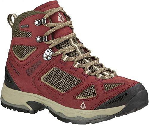Vasque Women's Breeze III GTX Waterproof Hiking Boot, Red Mahogany/Black Olive, 7.5 C/D US