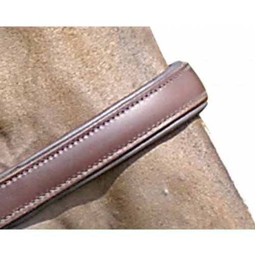 HKM 555646 Lederhalfter Classy, weich unterlegt, Warmblut, braun