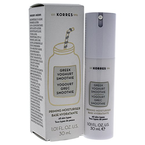 Korres Greek Yoghurt Smoothie Priming Moisturizer for Women, 1.01 - Drop Greek
