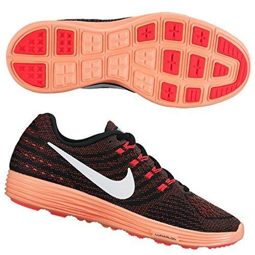 Nike Womens Lunartempo 2 Running Trainers 818098 Sneakers Shoes (US 7, Bright Crimson White mright Mango 600)
