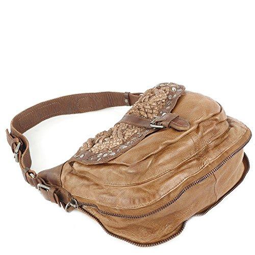 Taschendieb Wien Tasche - Cow Crust - S Shoulderbag - Cognac