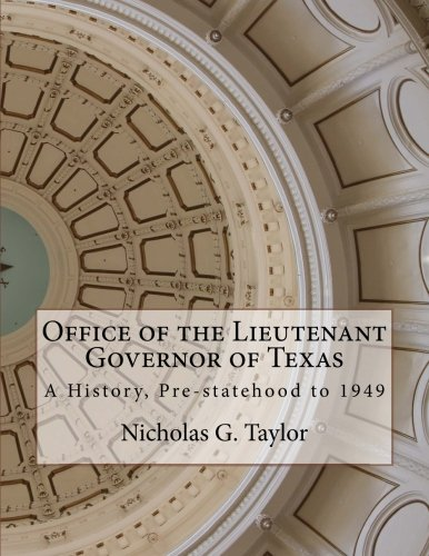 Download OFFICE OF THE LIEUTENANT GOVERNOR OF TEXAS pdf epub