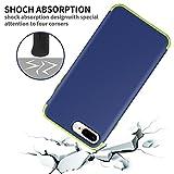 iPhone 8 Plus Case, KAMII 3in1 Shockproof Hybrid