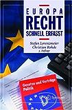 Europarecht - Schnell erfasst