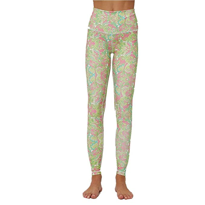SXZG Pantalones De Yoga para Mujer Leggings De Plantas De ...