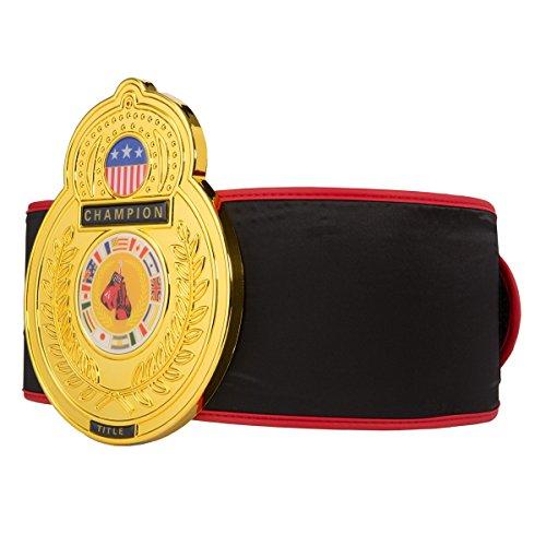 Title Boxing Old School Championship Belt, Black