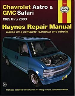 amazon com haynes repair manual for chevy astro van number 24010 rh amazon com 1997 GMC Safari 1997 GMC Safari