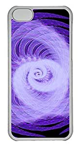 TYHH - iPhone 5/5s Case Abstract Rotating Light PC iPhone 5/5s Case Cover Transparent ending phone case