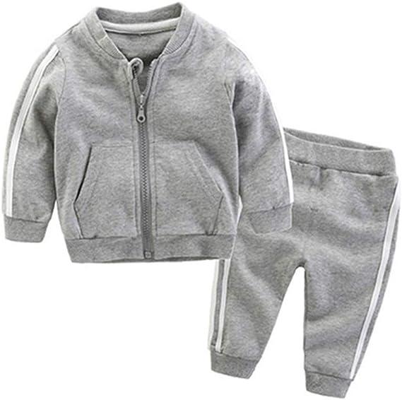Wang-RX Conjuntos de Ropa para bebés Otoño Infantil Recién Nacido ...