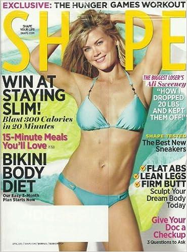 Shape Magazine April 2012 Biggest Loser's Ali Sweeney