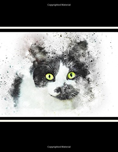 Download Tuxedo Cat Journal: Cat Journal (Large 8.5 x 11) (150 Blank Lined Pages, Soft Cover) (Diary, Notebook) PDF