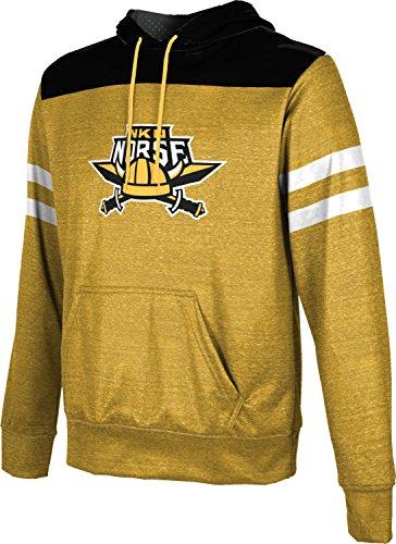 Northern Kentucky University Men's Pullover Hoodie, School Spirit Sweatshirt (Gameday) FCF71 Gold and Black ()