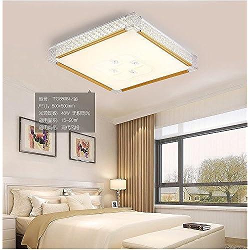 ANGEELEE Lampe De Plafond Led Minimaliste Post Moderne Et Chaleureux Salon  La Chambre Principale Ronde