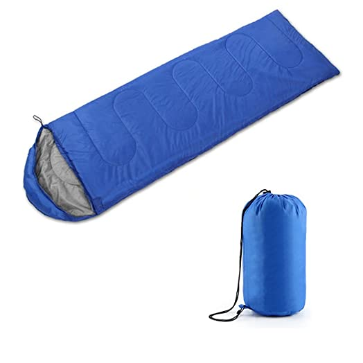 AllRight 3 4 Season Waterproof Camping Bags Hiking Sleeping Bag Blue