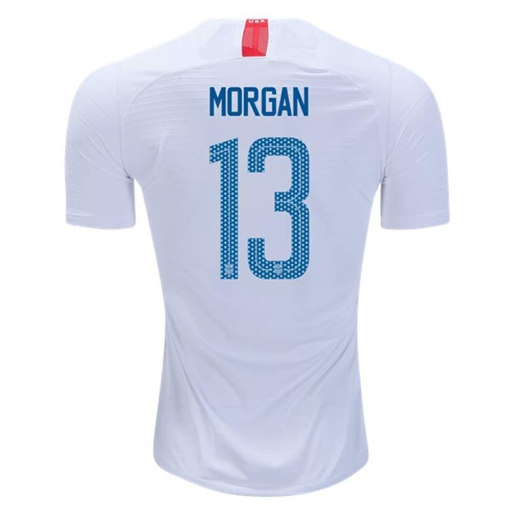 eaa6c67f2e6ac Amazon.com : Nike USA 2018-19 Home Youth Soccer Jersey Morgan #13 Youth  Sizes : Clothing