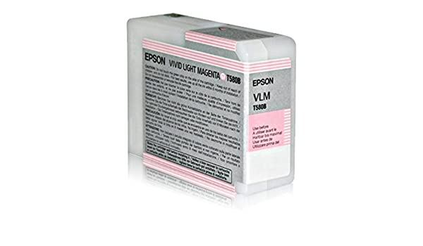 Epson C13T580B00 cartucho de tinta magenta claro para Stylus Pro ...