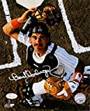 Benito Santiago Autographed San Diego Padres 8x10 Photo Pf Mask Off Photo-JSA W Auth White