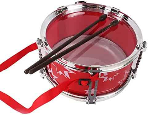 LINAG Kids Drum Set Toy Percussion Music Instrument Set Mini