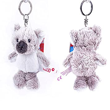 Cute Animal de peluche Peluche Gris Koala llavero bolsa ...