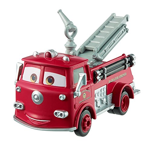 Disney Pixar Cars Fire Engine Red