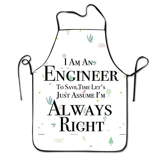 starorlando best gift I Am An Engineer BBQ Kitchen Cooking (Engineer Bbq Funny Apron)