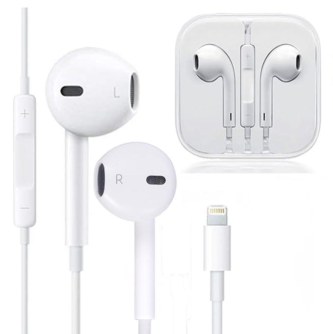 Amazoncom Lightning Earphoneswith Microphone Earbuds Stereo