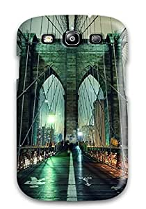 Galaxy S3 Case Cover With Shock Absorbent Protective QCeCPPB1834ElJTc Case