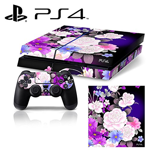 ps4 controller purple cover - 6