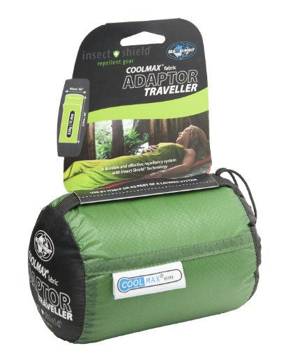 Sea To Summit Coolmax Adaptor Traveller Liner with Insect Shield