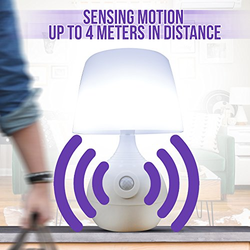 Cordless Battery Operated Night - Motion Sensor Lamp Desk, Bathroom Portable Lamps for Use