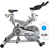 fitbill S723 Smart Professional Indoor Cycling Bike with Bluetooth Sensor&Fitness App