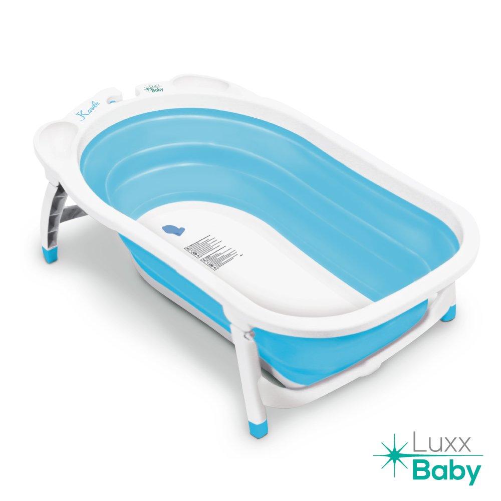 Amazon.com : Luxx Baby BF1 Folding Bath Tub by Karibu w/Non-Slip Mat ...