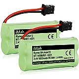 iMah BT-1021 BBTG0798001 Phone Battery Compatible Uniden BT1021 BT-1008 BT-1016 BT-1025 DCX160 DCX170 DCX200 DWX207 DCX210 DCX291 DCX309 DCX350 Handsets